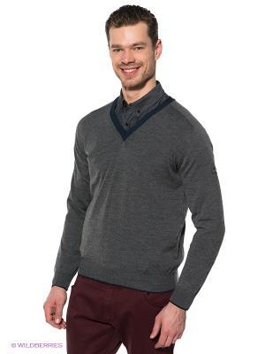 Пуловер Navigare. Цвет: темно-серый