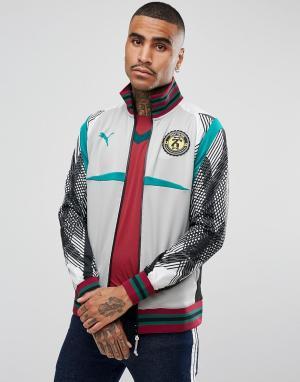 Puma Серая спортивная куртка x Daily Paper 57416739. Цвет: серый
