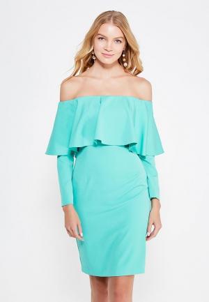 Платье Tsurpal. Цвет: зеленый