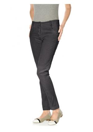 Кожаные брюки B.C. BEST CONNECTIONS by Heine. Цвет: коньячный, темно-серый