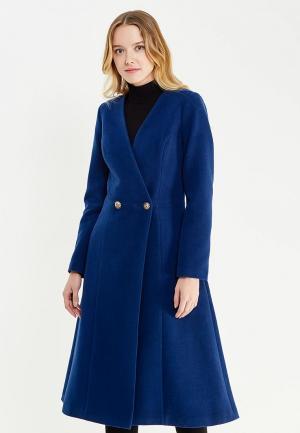 Пальто Katya Erokhina. Цвет: синий