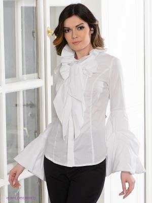 Блузка Elena Shumilo. Цвет: белый