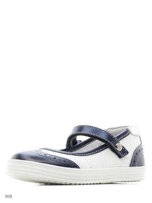 Туфли ELEGAMI. Цвет: белый