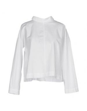 Блузка DANOLIS. Цвет: белый