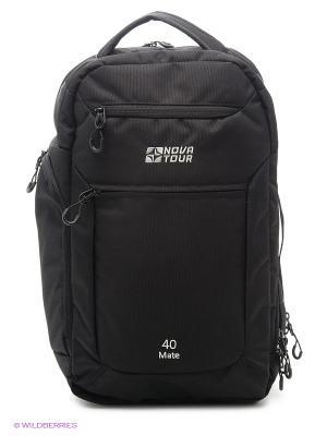 Рюкзак деловой Мэйт 40 Nova tour. Цвет: черный
