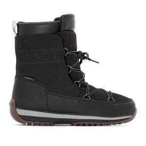 Сапоги Lem Leather MOON BOOT. Цвет: черный