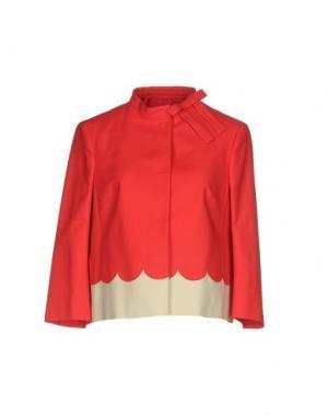 Пиджак REDValentino. Цвет: коралловый