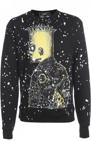 Пуловер джерси Dom Rebel. Цвет: черный