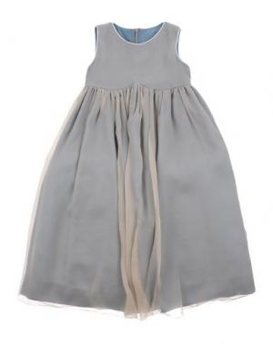 Платье LA STUPENDERIA. Цвет: светло-серый
