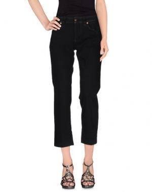 Джинсовые брюки NOTIFY. Цвет: черный