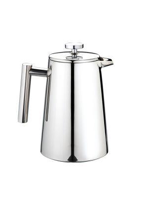 Заварочный чайник из нержавеющей стали с двойными стенками 1,0Л Augustin Welz. Цвет: серый