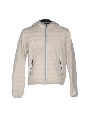 Куртка GABARDINE. Цвет: светло-серый