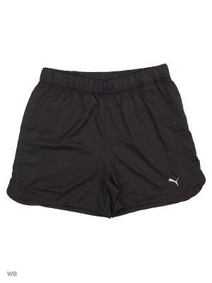 Шорты RAPID Woven Shorts PUMA. Цвет: черный