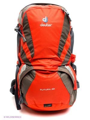 Рюкзак Aircomfort Futura Deuter. Цвет: оранжевый, серый