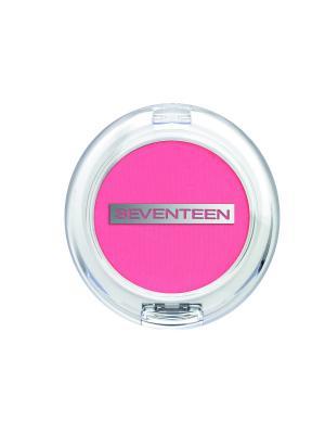 Румяна компактные матовые шелковистые Natural Matte Silky Blusher № 06 Seventeen.. Цвет: розовый, лиловый