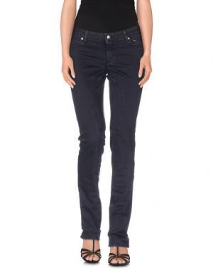 Джинсовые брюки SIVIGLIA. Цвет: темно-синий