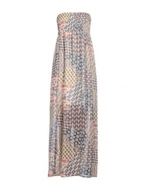 Длинное платье GIORGIA & JOHNS. Цвет: розовый