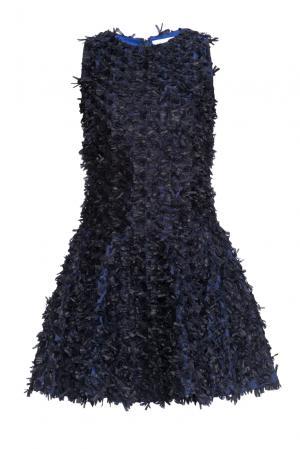 Платье из искусственного шелка 160668 Infinee. Цвет: разноцветный