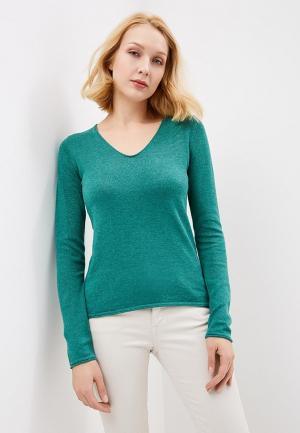 Пуловер Tom Tailor. Цвет: зеленый