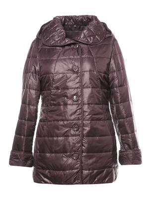 Куртка AMALIA COLLECTION. Цвет: фиолетовый