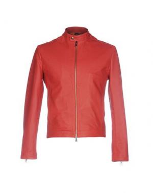 Куртка ROBERTO PEPE. Цвет: красный