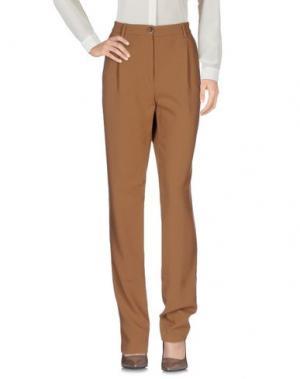 Повседневные брюки GARAGE NOUVEAU. Цвет: верблюжий