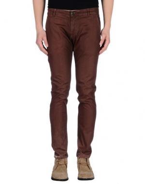 Повседневные брюки ENTRE AMIS. Цвет: кирпично-красный