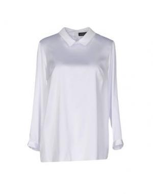 Блузка ALEXANDER TEREKHOV. Цвет: белый