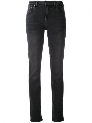 Облегающие эластичные джинсы Blk Dnm. Цвет: чёрный