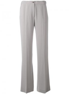 Широкие брюки Alberto Biani. Цвет: серый