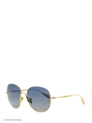 Солнцезащитные очки BLD 1630 101 GOLD Baldinini. Цвет: голубой