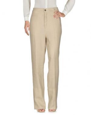 Повседневные брюки LOEWE. Цвет: бежевый