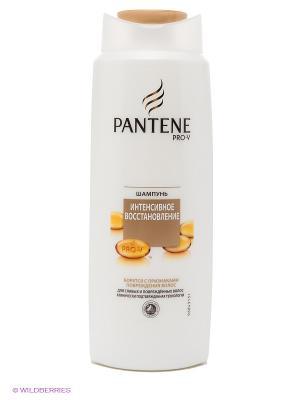 Шампунь, интенсивное восстановление, для слабых и поврежденных волос PANTENE. Цвет: бежевый