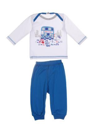 Комплект одежды Yallo Kids. Цвет: белый