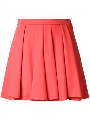 Плиссированная юбка Guild Prime. Цвет: красный