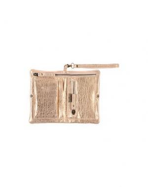 Бумажник CORSIA. Цвет: медный