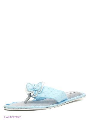 Тапочки De Fonseca. Цвет: голубой