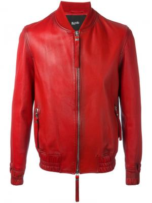 Куртка-бомбер Guard Blood Brother. Цвет: красный