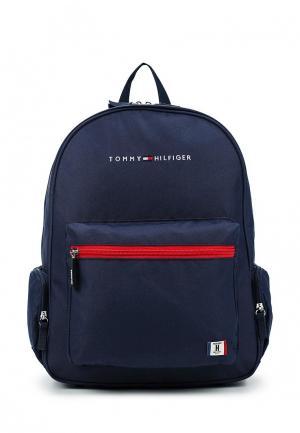 Рюкзак Tommy Hilfiger. Цвет: синий