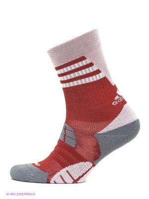 Носки TT COMF HC 1PP Adidas. Цвет: красный, серый, бледно-розовый