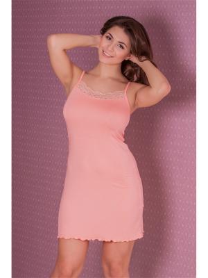 Сорочка MONTI&FARR. Цвет: персиковый