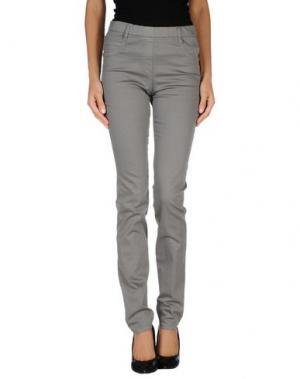 Джинсовые брюки ROSE & LINI. Цвет: серый
