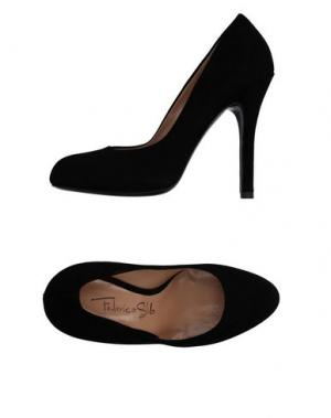 Туфли FEDERICA STELLA. Цвет: черный