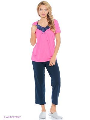 Пижама Vaide. Цвет: розовый