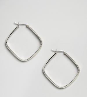 Kingsley Ryan Серебряные серьги. Цвет: серебряный