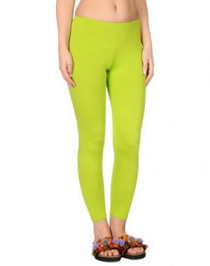 Пляжные брюки и шорты MISS NAORY. Цвет: кислотно-зеленый
