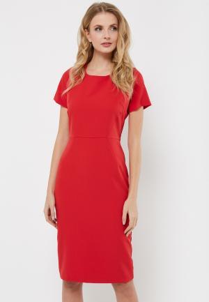 Платье Verna Sebe. Цвет: красный