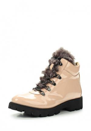 Ботинки Steve Madden. Цвет: бежевый