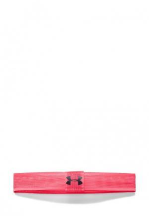 Повязка Under Armour. Цвет: розовый