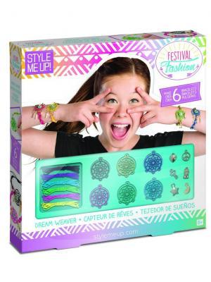 Набор для создания браслетов Браслеты мечты STYLE ME UP. Цвет: зеленый, белый, розовый